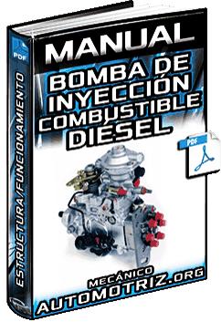 Manual de Bomba de Inyección Diésel - Partes, Estructura y Funcionamiento