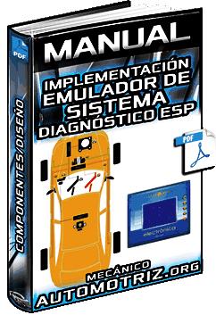 Manual de Sistema de Diagnóstico ESP - Componentes, Diseño e Implementación