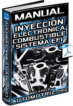 Manual: Inyección Electrónica de Combustible - Sistema EFI, Componentes y Funciones