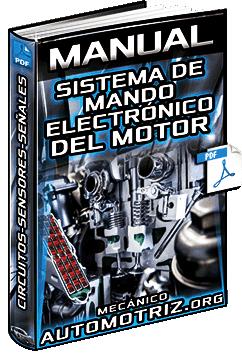 Manual: Sistema de Mando Electrónico del Motor - Circuitos, Sensores, Tipos y Función