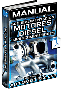 Manual: Sobrealimentación en Motores Diésel - Turbocompresores y Componentes