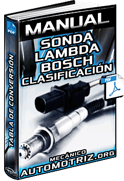 Descargar Manual de Sonda Lambda Bosch
