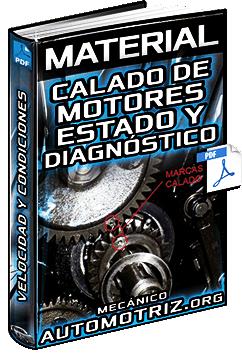 Material: Calado de Motores - Estado, Diagnóstico, Velocidad y Condiciones