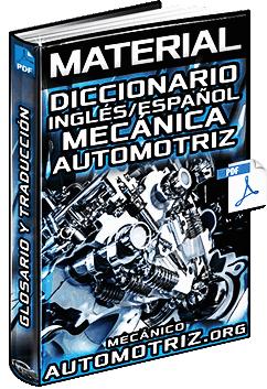 Partes del motor en inglés y español pdf