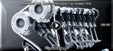 Video de Armado del Motor Nissan 1.6L Turbo TFSi