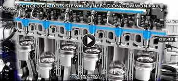 Vídeo de Tecnología de Sistema Common Rail
