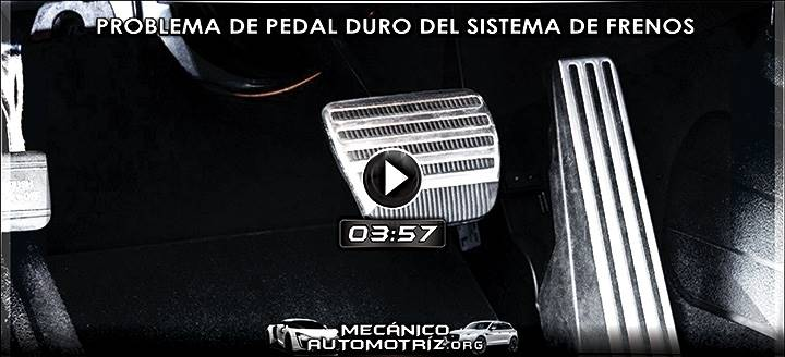 Video de Problema de Pedal Duro de Freno