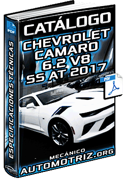 Catálogo: Chevrolet Camaro Coupé 6.2 V8 SS AT 2017 - Especificaciones Técnicas