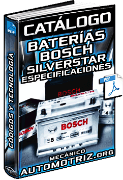 Catálogo de Baterías Bosch Silverstar – Tecnología, Códigos y Especificaciones