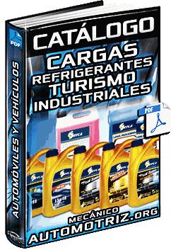 Catálogo de Cargas Refrigerantes Serca para Vehículos de Turismo e Industriales