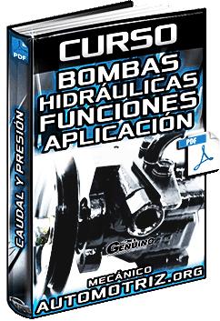 Curso de Bombas Hidráulicas – Tipos, Funciones, Caudal, Presión y Aplicación