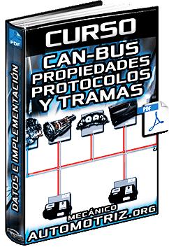 Curso de CAN-Bus - Capas, Protocolos, Tramas, Errores e Implementación