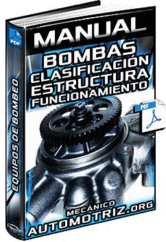Manual de Bombas - Tipos, Clasificación, Características y Funcionamiento
