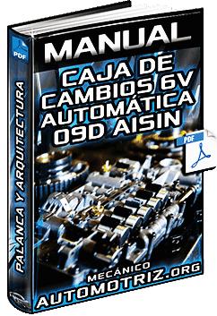 Manual de Caja de Cambios Automática de 6V 09D Aisin - Palanca y Arquitectura
