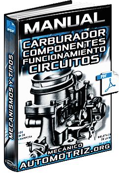 Manual de Carburadores - Componentes, Mecanismos, Circuitos y Tipos