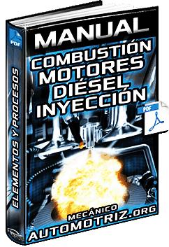 Manual de Combustión de Motores Diésel - Procesos, Inyección Directa e Indirecta