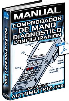 Manual de Comprobador de Mano - Diagnóstico OBD y Configuración