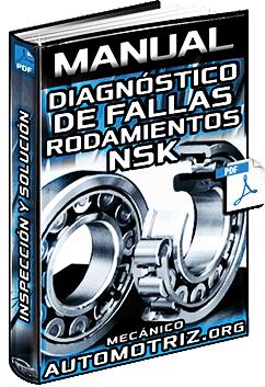 Manual de Diagnóstico de Fallas en Rodamientos NSK - Inspección y Solución