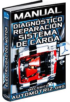 Manual de Diagnóstico y Reparación del Sistema de Carga del Motor - Alternador