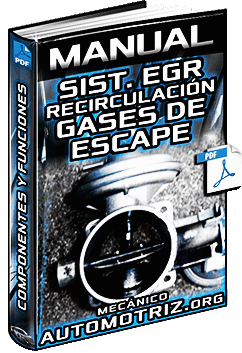Manual de Sistema EGR Recirculación de Gases de Escape - Mecanismo e Inspección