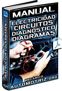 Manual: Electricidad - Cargas, Circuitos, Leyes, Localización de Fallas y Diagramas
