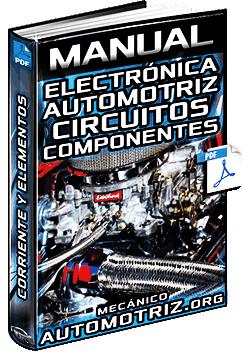 Manual de Electrónica Automotriz - Corriente, Circuitos y Componentes