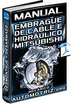 Manual: Embrague de Cable e Hidráulico Mitsubishi - Piezas y Desmontaje