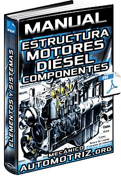 Manual de Estructura del Motor Diésel – Componentes, Elementos y Sistemas