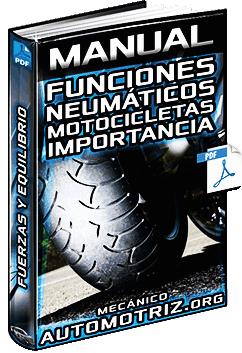 Manual de Funciones de los Neumáticos de Motocicletas - Fuerzas y Equilibrio
