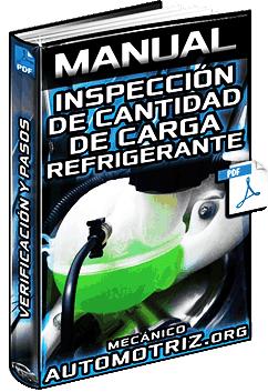 Manual de Inspección de la Cantidad de Carga del Refrigerante – Verificación