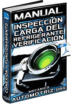 Manual de Inspección de la Carga del Refrigerante - Conexión y Verificación