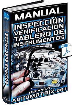 Manual de Inspección y Verificación del Tablero de Instrumentos