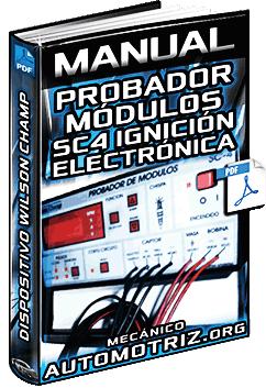 Manual del Probador de Módulo de Ignición Electrónica SC-4 Wilson Champ