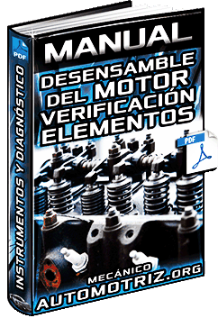Manual: Motor - Desarmado, Verificación, Afinamiento, Ajustes y Diagnóstico