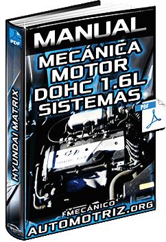 Manual del Motor DOHC 1.6L Hyundai Matrix – Sistemas y Componentes