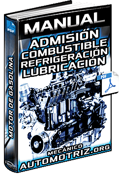 Manual de Motor de Gasolina – Admisión, Combustible, Refrigeración y Lubricación