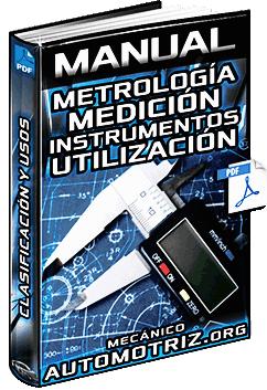 Manual de Metrología - Medición, Instrumentos, Partes y Utilización