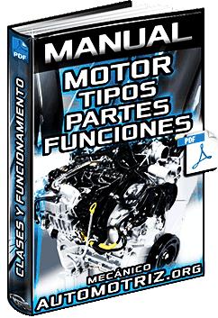 Manual de Motores - Clasificación, Componentes, Tipos y Funcionamiento