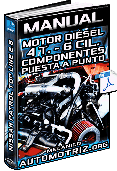 Manual de Motor Diésel de 6 Cil. de Nissan Patrol 2.8 – Puesta a Punto y Desarmado