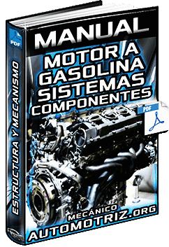 Manual de Motor de Gasolina - Sistemas, Funcionamiento, Partes y Mecanismo