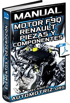 Manual de Motor Serie F9Q Renault - Especificaciones y Componentes