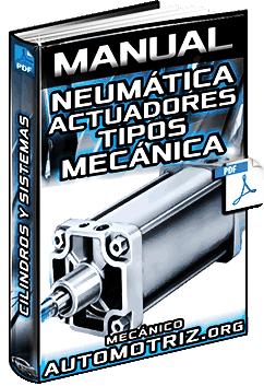 Manual de Neumática – Actuadores, Tipos, Lineales, Mecánica, Cilindros y Sistemas
