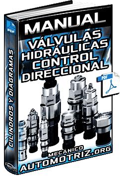 Manual de Válvulas Hidráulicas – Control Direccional, Tipos, Cilindros y Diagramas