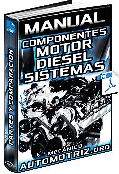 Manual de Motores Diesel y a Gasolina - Componentes, Sistemas y Comparación
