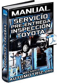 Manual de PDS Servicio de Pre-Entrega - Inspección de Exterior, Capó e Interior