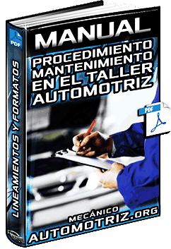 Manual de Políticas y Procedimientos de Mantenimiento Automotriz en el Taller