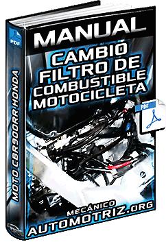 Manual: Cambio de Filtro de Combustible de la Moto CBR900RR Honda