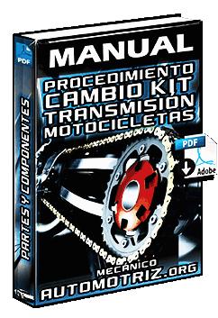 Manual de Procedimiento para el Cambio del Kit de Transmisión en Motos