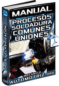 Manual: Procesos de Soldaduras - Flama de Gas OFW, Arco Eléctrico y Resistencia