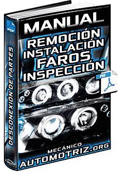 Manual de Remoción e Instalación de Faros - Partes, Circuito y Voltaje